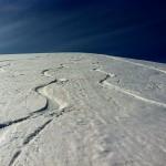 モエレ山でスキー